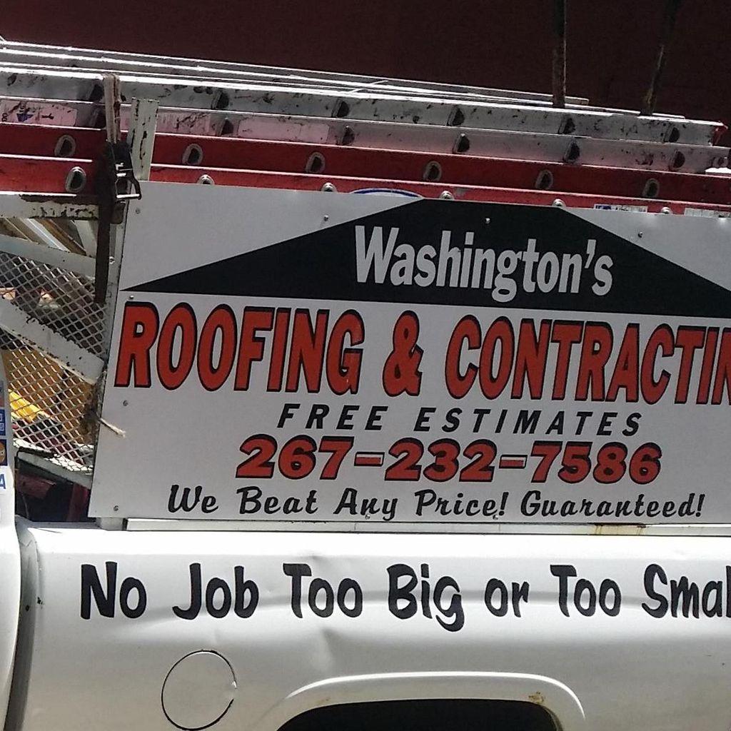 Washington roofing & contracting