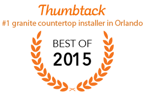 We're ranked the #1 granite company in all of Orlando for 2015.