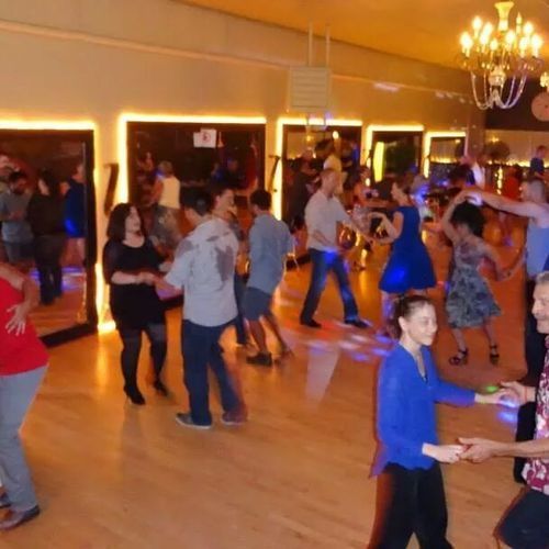 Fun group classes! Stay with your partner or rotate through partners. No partner necessary to attend!