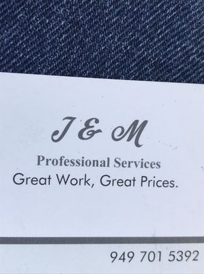 Avatar for J & M Professional Services