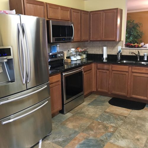 An amazing kitchen that Diamond Clean had the pleasure of cleaning!