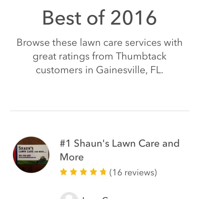 Shaun's Lawn Care and More