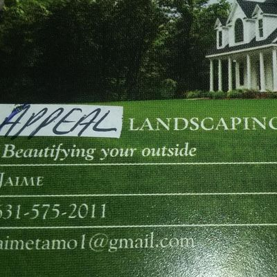 Avatar for appeal landscaping Hempstead, NY Thumbtack