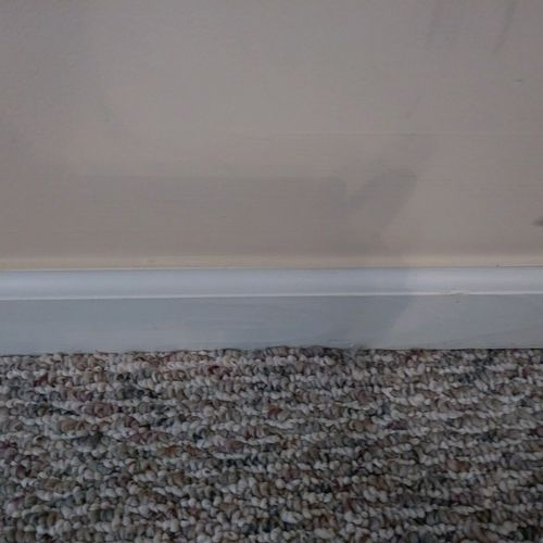 Baseboard after