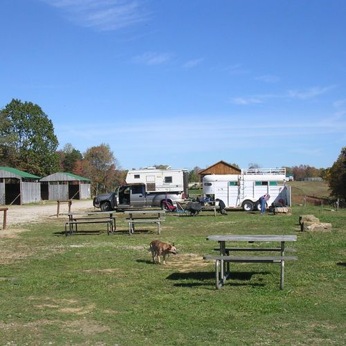 Weekend Camp & Trail Riding (Hocking Hills)
