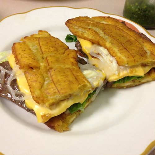Steak Jibaritos-Steak Sandwiches on Plaintains
