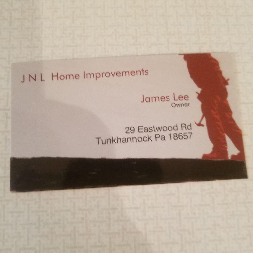 Jnl Home Improvements Tunkhannock Pa