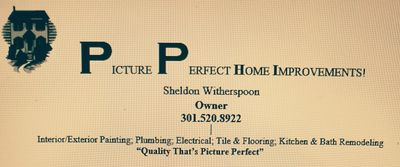 Avatar for Picture Perfect Home Improvements