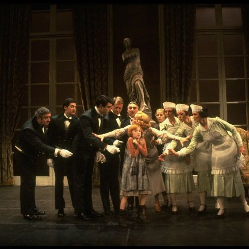 """""""Annie"""" with Mary B P, Alison Smith and members of Broadway company."""