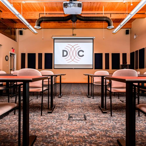 ***Commercial Install*** Conference Room Laser Projection, Control and Microphones