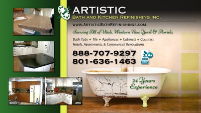 Avatar for artistic Bath & Kitchen refinishing