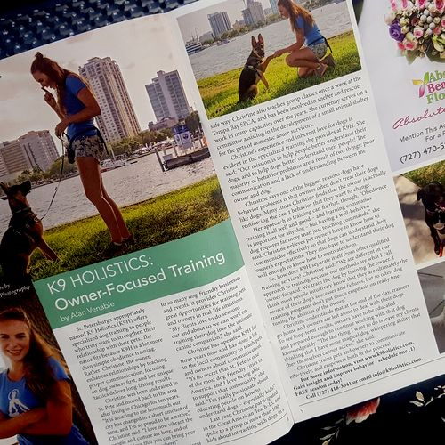 K9 Holistics was featured last year in The Green Bench Monthly