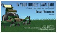 Avatar for In Your Budget Lawn Care