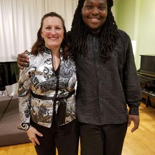 Voice Recital with Derrick 2017.