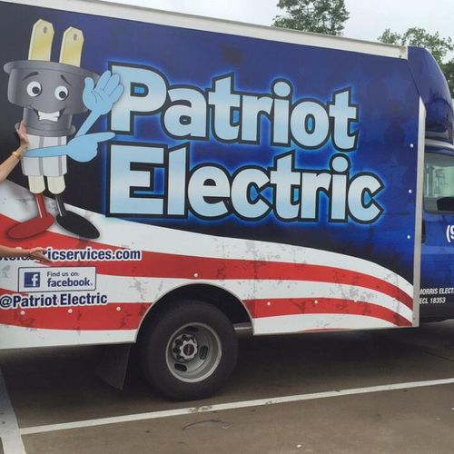 Patriot Electric new service truck Warehouse on wheels