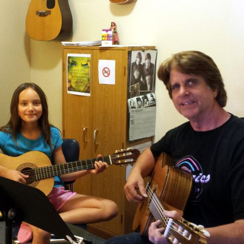 """""""Learning and playing guitar is one of my two favorite things to do! Horseback riding is my other favorite!"""" Charis"""