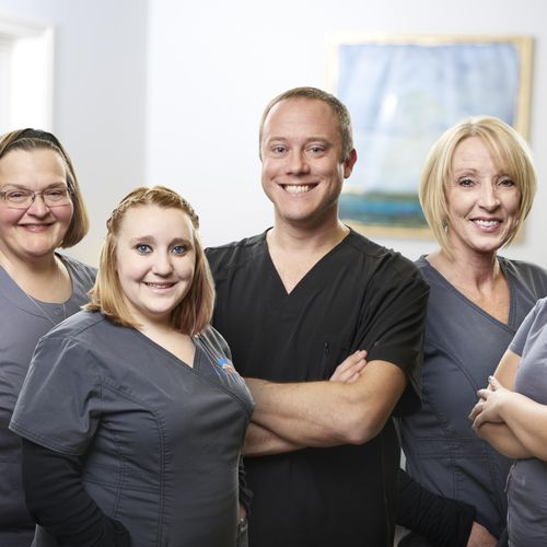 McCall Dentures Staff Composite Group Photo