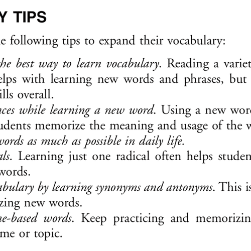 Here are some tips for you:)