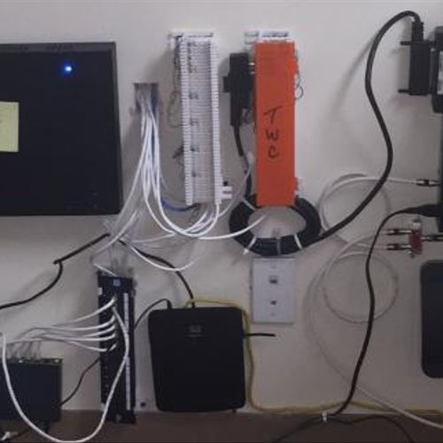 Telephone System & Data Line Installation at Real Estate office in Springfield Gardens, NY