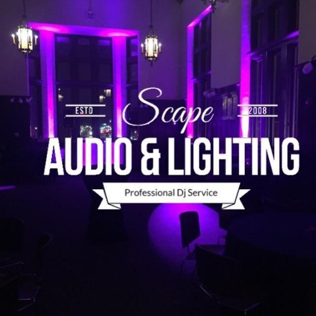 Scape Audio & Lighting: Professional Dj Service