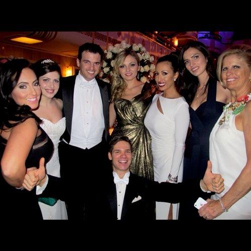 The Viennese Opera Ball.