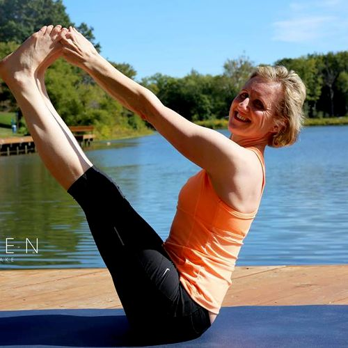 Olga Campora, PhD., E-RYT 500, a yoga teacher with 35 years of yoga teaching experience, presently living in Maryland.