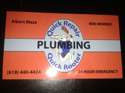 Avatar for Cox Rooter  and fast fix plumbing San Diego, CA Thumbtack