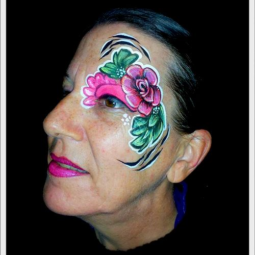 Book one of our Master Entertainers to do amazing, professional face painting at your event!