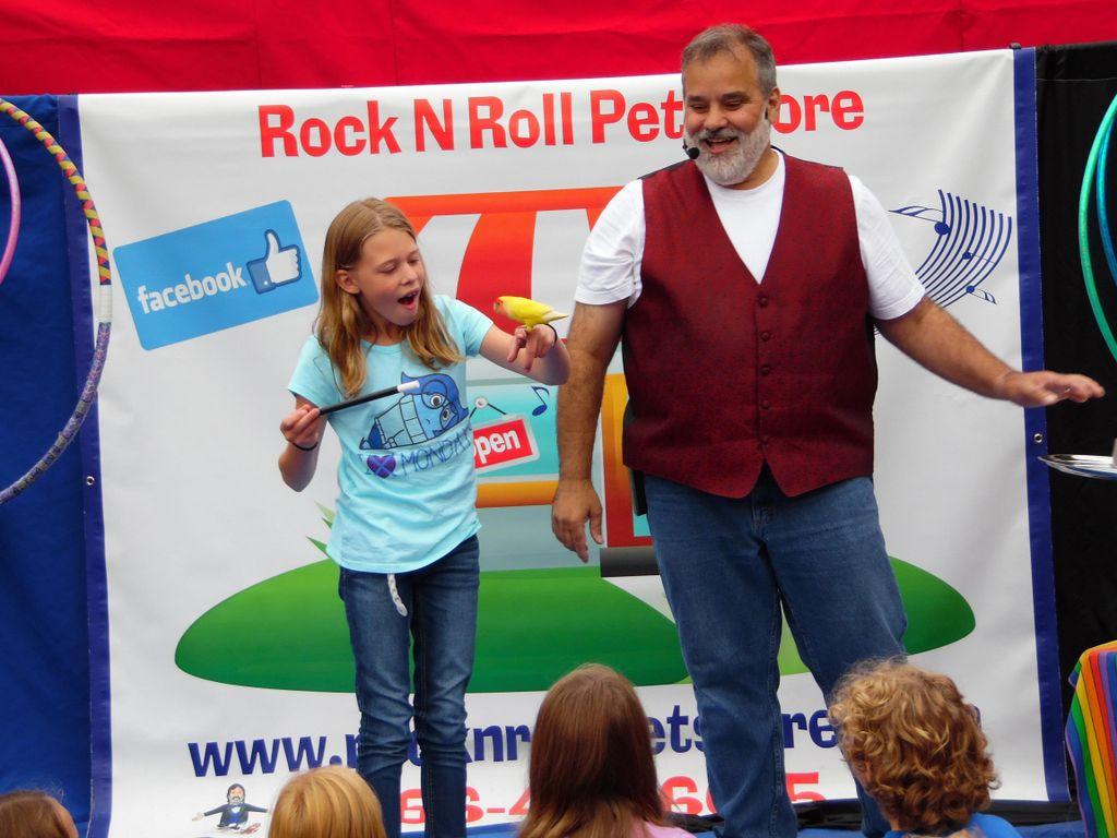 Rock N Roll Pet Store Kids Show