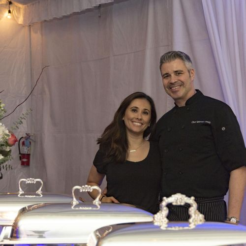 Chef Marcel and his wife Jeannie