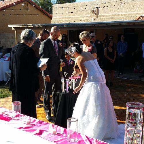 Backyard Wedding & Reception