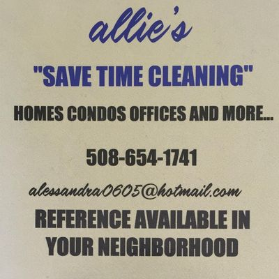 Avatar for Allie's save  time cleaning