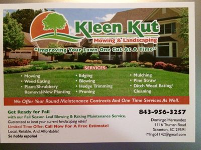Avatar for Kleen Kut Mowing And Landscaping LLC