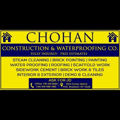 Avatar for Chohan construction Brooklyn, NY Thumbtack