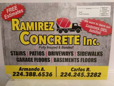Avatar for Ramirez Concrete Palatine, IL Thumbtack