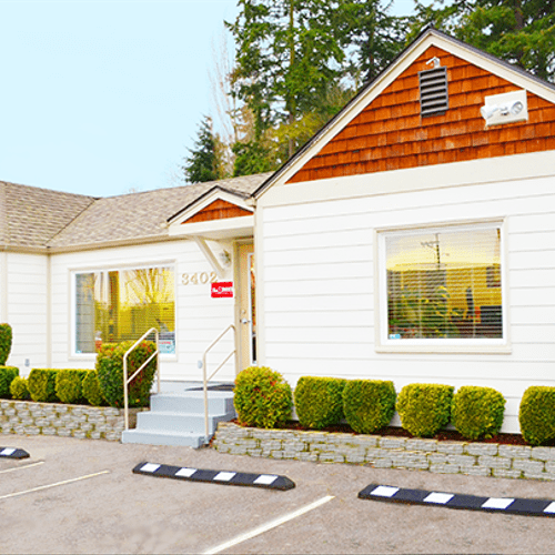 Stop on in... Our office is located at  3402 So. Washington St. Tacoma, WA 98409 Office Hours M-F 8:00am - 5:00pm