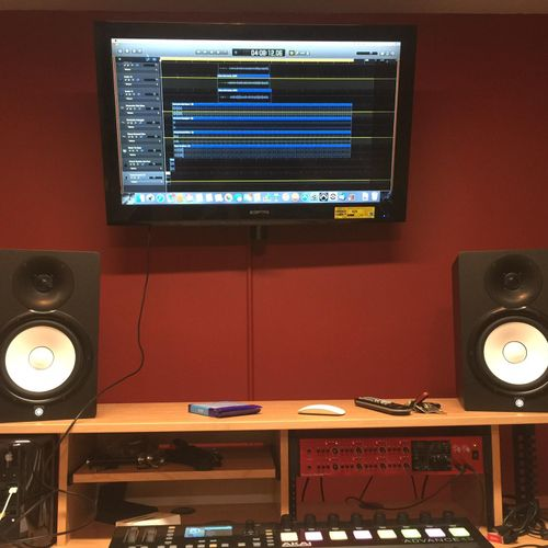 Assist client with music Studio