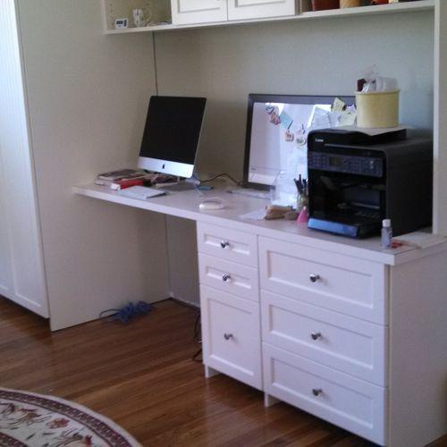 Bedroom Office