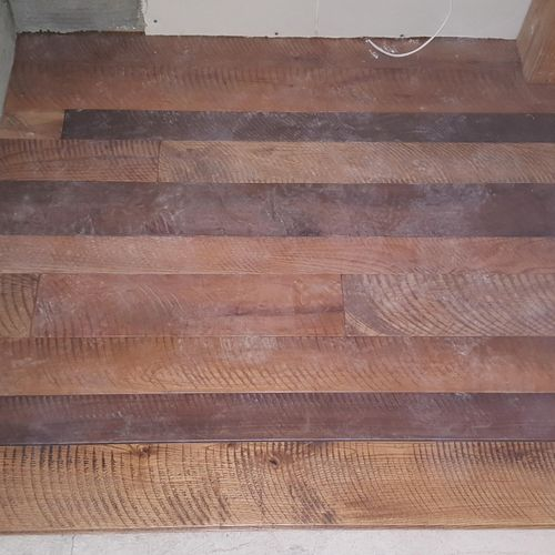 Maple, oak, hickory and cherry flooring