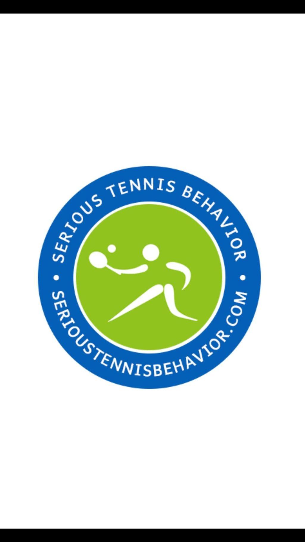 Serious Tennis Behavior