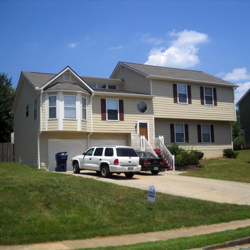 New Roof, New Gutters, New Siding & Exterior Painting