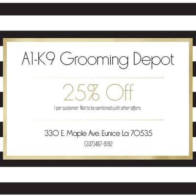 Avatar for A1-K9 Grooming Depot Eunice, LA Thumbtack