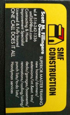 Avatar for SMF Construction Inc Coram, NY Thumbtack