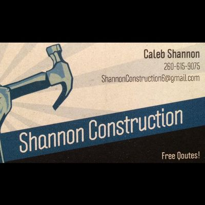 Avatar for Shannon Construction