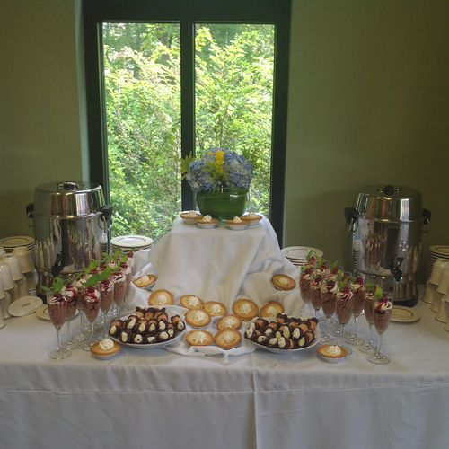 Corporate Meeting-Coffee & Dessert Station Greenville, SC