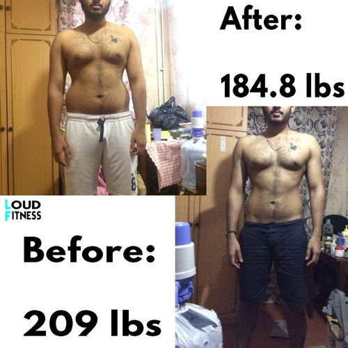 One of My Clients and his phenomenal results!