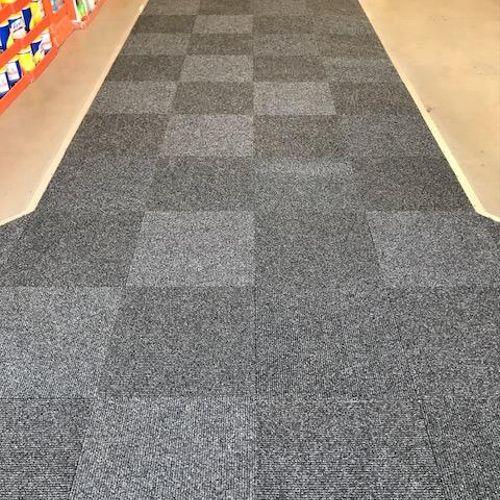 Install Carpet Tiles for Home Depot