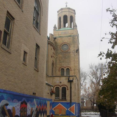 Historic church renovation, new community center, housing