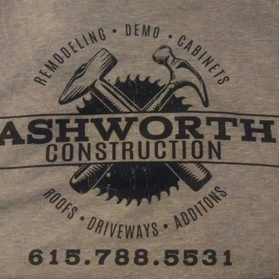 Avatar for Ashworth Construction LLC Hendersonville, TN Thumbtack