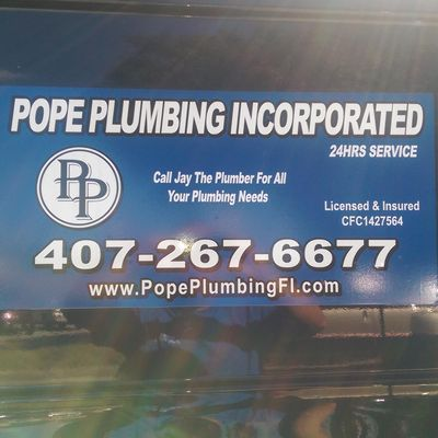 Avatar for Pope Plumbing Sanford, FL Thumbtack